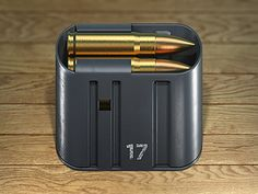 This piece looks super realistic, any gun enthusiast would definitely be drawn to the familiar shape and color.