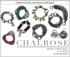 Click the bracelet on the Chalrose base bag or wear it on your wrist! Click with Chalrose: www.chalrose.com