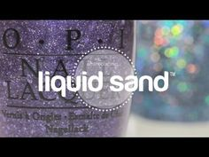 Introducing Liquid Sand, our latest innovation in textured nail lacquer! Liquid Sand dries to a textured matte finish infused with reflective glints of light.