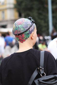 Milan Fashion Week Street Style ss15 photo by Claudia Bellotti for Tessabit