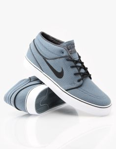 info for 7c3c0 1047b Nike SB Zoom Stefan Janoski Mid Skateboarding Shoes - Slate GreyBlack -  RouteOne.co.uk