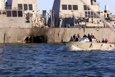 USS COLE bombing...jay was with 2nd FAST CO. And was part of the rescue mission.