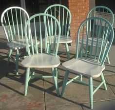 I should do this to my kitchen chairs