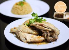 Nasi Ayam Hainam (Andalan) Rice Cooker, Slow Cooker, Side Dishes, Easy Meals, Pork, Food And Drink, Turkey, Cooking Recipes, Yummy Food