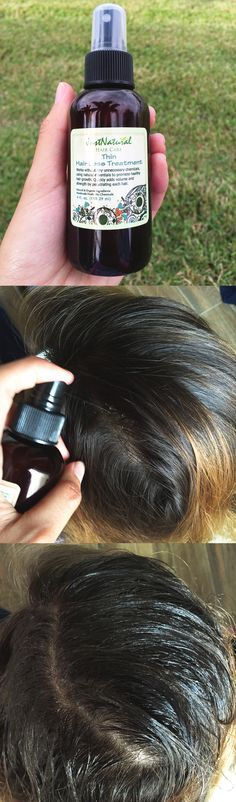 Thin Hair Loss Treatment. It penetrates hair quickly to begin plumping strands with increased volume for a fuller looking appearance. This light blend of moisturizing plant oils and extracts coats cuticles to smooth out damage without weighing hair down.