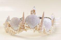 Coroa de Conchas Sereia Pandora