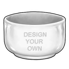Design Your Own Personalized Cereal Bowl