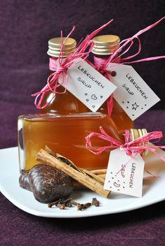Küchenzaubereien: Last Minute Geschenkeküche: Selbstgemachter Lebkuchen-Sirup