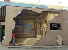 Fancy - Incredibly Realistic 3D Street Art by John Pugh