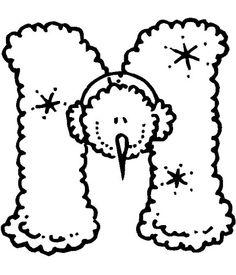 Alfabeto Boneco de Neve - Aninha - Picasa Web Albums