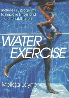Features beginner, intermediate and advanced workouts to do in the pool, which offers protection and comfort for those with common joint injuries and conditions, explaining each movement with underwat mobility exercises workout plans Swimming Pool Exercises, Pool Workout, Cross Training Workouts, Increase Flexibility, Muscle Groups, Fun Workouts, Water Workouts, Water Aerobic Exercises, Water Aerobics Workout