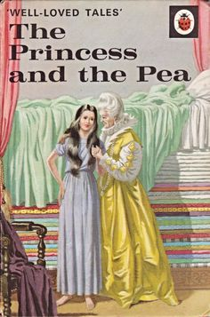 Buy THE PRINCESS AND THE PEA a Vintage Ladybird Book from the Well Loved Tales Series 606D Matte Hardback 1975