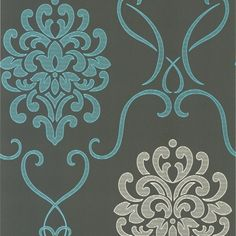 Manufacturer: Brewster Book Name: HGTV HOME II BY SW EASYCHANGE Pattern Number: 493-5821 Color: CHARCOAL/GRAY