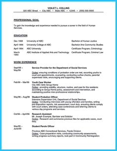 cool perfect correctional officer resume to get noticed check more at http