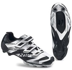 Northwave Scorpius 2 MTB Shoes - White-Black Mtb Shoes, Cycling Shoes, Sneakers, Black, Fashion, Tennis, Moda, Slippers, Black People