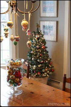 A Vintage Jewelry Tree - Finding Home   ornaments form chandelier