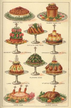 1901 PRINTABLES main courses