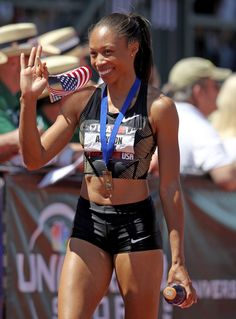 Allyson Felix qualifies for 4 Events in the 2012 London Olympics