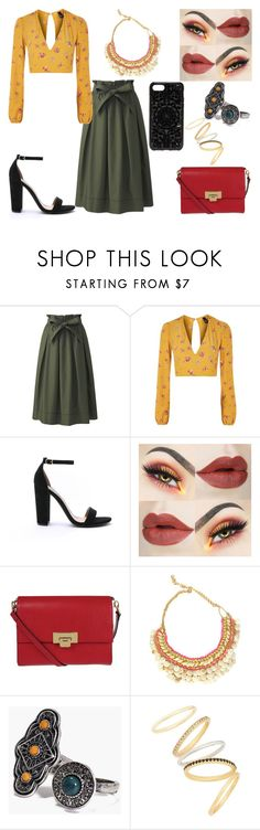 """Untitled #520"" by kora-muffin on Polyvore featuring Uniqlo, Nobody's Child, Steve Madden, Lodis, Boohoo, Madewell and Felony Case"