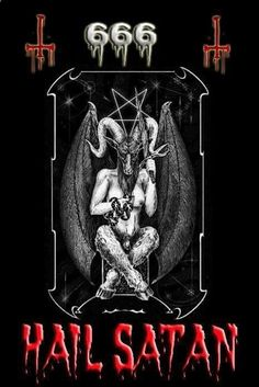 Baphomet, Beautiful Dark Art, Dark Art Illustrations, Satanic Rituals, Devil Aesthetic, Satanic Art, Evil Art, Demon Art, Dark Fantasy Art