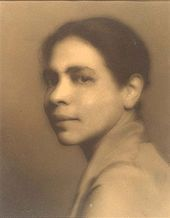 Nella Larsen: Novelist of the Harlem Renaissance (author of Passing and Quicksand). Was a librarian at the 135th Street Branch of the NYPL.