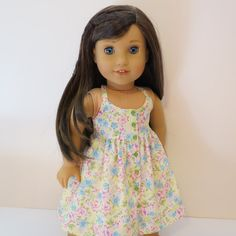 American Girl Doll Halter Dress by AmericAnnMade on Etsy