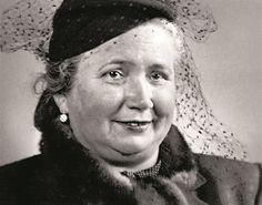 Marta Gottwaldová, rozená Marie Holubová, manželka Klementa Gottwalda Historia