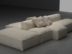 Modular / Sectional sofas Mauro Lipparini models created by Design Connected Sofa Design, Furniture Design, Living Room Sofa, Living Room Furniture, Living Room Decor, Design Connected, Interior Design Presentation, Modular Sectional Sofa, Living Room
