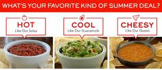 CHILI'S $$ Reminder: Coupon for FREE Chips & Salsa or Queso or Guacamole – Expires SUNDAY (7/13)!