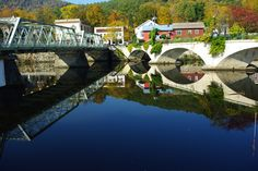 Recently, the Village of Shelburne Falls was designated a Cultural District by Massachusetts Cultural Council.  Come and see why!  http://www.shelburnefalls.com  http://www.facebook.com/shelburnefallsma