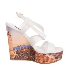 Heavenly Feet Myrtle Womens Ladies Wedge Shoes Assorted UK Size