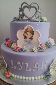 SOPHIA THE FIRST CAKE IDEAS | Sofia the First birthday cake!