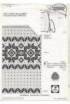 Livs Lyst: Søkeresultat for Kofte Knitting Charts, Knitting Stitches, Hand Knitting, Fair Isle Chart, Fair Isle Pattern, Stitch Patterns, Knitting Patterns, Knit Stranded, Fair Isle Knitting