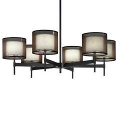 Saturnia Chandelier by Robert Abbey, $785