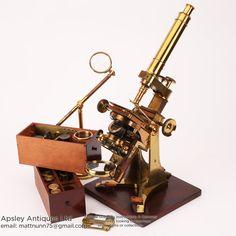 Ross No.1 Microscope by Andrew Ross