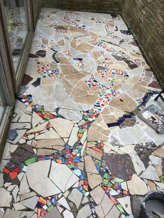 Mosaic Catio (Cat Patio) Project