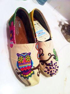 Hey, I found this really awesome Etsy listing at https://www.etsy.com/listing/158067873/retro-owl-painted-toms