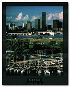 Miami City in Florida City Skyline Wall Décor Art Print P... https://www.amazon.com/dp/B01LYQCPIK/ref=cm_sw_r_pi_dp_x_Sxm9xbA21QKBP
