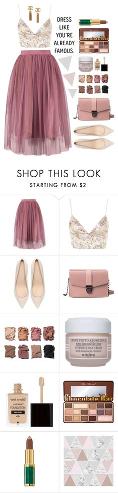 """""""Happy new year everyone!! Please read description."""" by altrisa-mulla ❤ liked on Polyvore featuring WYLDR, Zara, Illamasqua, Sisley, Wet n Wild, Too Faced Cosmetics, Balmain and Graham & Brown"""