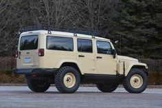 Jeep Wrangler Africa Concept Vehicle shown at the 2015 Easter Jeep Safari in Moab, Utah.