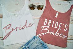 Bride Bride's Babes Bachelorette Party Bachelorette
