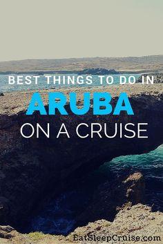 Best Things to Do in Aruba on a Cruise. #Cruise #Caribbean #Aruba
