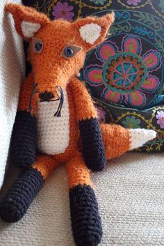 crocheted fox - Bing images