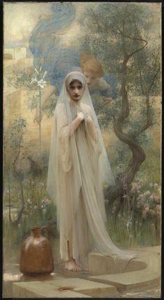 Arthur Hacker The Annunciation 1892