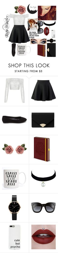 """""""Rose Weasley-date night"""" by beljade ❤ liked on Polyvore featuring MICHAEL Michael Kors, Dolce&Gabbana and Gucci"""
