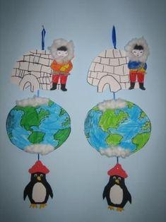 Noord- en zuidpool