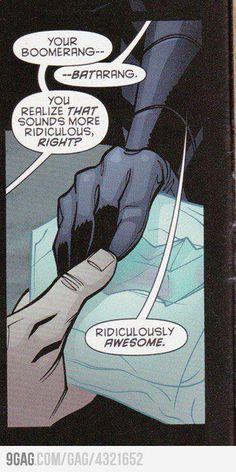 Batman... Making all the rules.