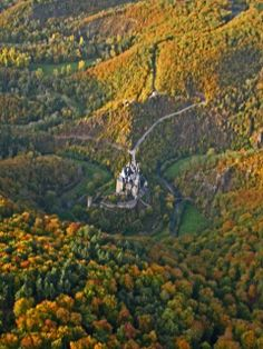 Burg Eltz Castle - Above the Moselle River between Koblenz and Trier, Germany