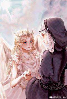 Art Anime Fille, Anime Art Girl, Manga Girl, Pretty Anime Girl, Beautiful Anime Girl, Horoscope Animé, Anime Fantasy, Fantasy Art, Ange Anime