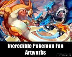30 Incredible #Pokemon Fan #Artworks